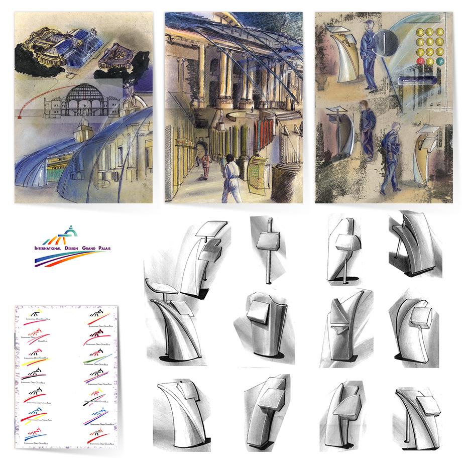 Design graphique direction artistique free-lance (outsourcé ou en régie) Lyon Paris Annecy.
