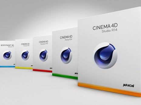 Coffrets CInema 4D (C4D) de Maxon