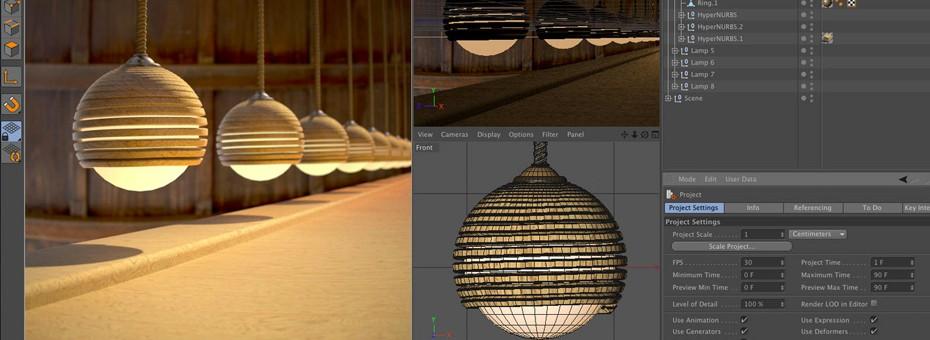 After Effects et Maxon proposent un moteur 3D de rendu intégré au Logiciel d