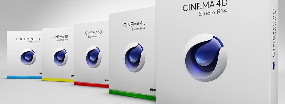 Coffrets CInema 4D (C4D) de Maxon